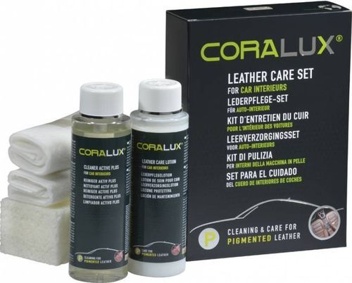 Комплект по уходу за кожей CORALUX Leather Care Set P